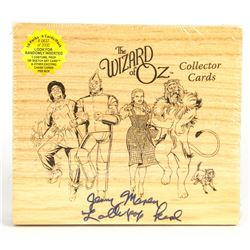 Jerry Maren Signed The Wizard of Oz Collector Cards Box