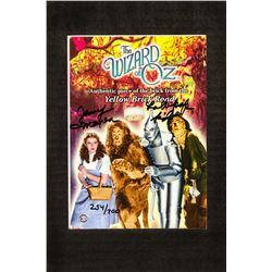 """Jerry Maren Signed """"Yellow Brick Road"""" Prop Card from The Wizard of Oz"""