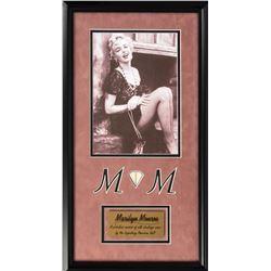 Marilyn Monroe Framed Stocking Display
