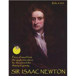 Original Sir Isaac Newton Apple Tree wood