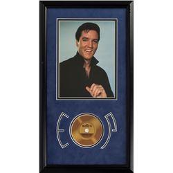 Original Elvis Presley Hair Framed Display