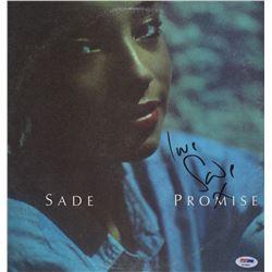 """Sade Signed """"Promise"""" Record Album"""