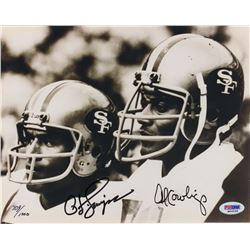 OJ Simpson & Al Cowlings Signed Photo