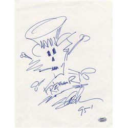 Guns N' Roses Slash Signed Sketch