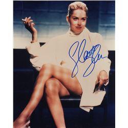 Sharon Stone Signed Photo from Basic Instinct