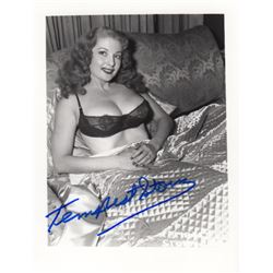 Collection of Tempest Storm Signed Photos by Irving Klaw