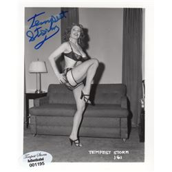 Collection of Tempest Storm Signed Photographs by Irving Klaw