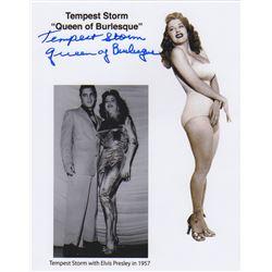 Tempest Storm Signed Photo & Letter