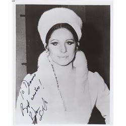 Barbra Streisand Signed Photo