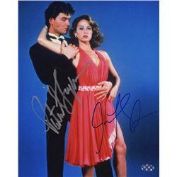 Patrick Swayze & Jennifer Grey Signed Photo from Dirty Dancing