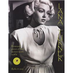 Original Lana Turner Wardrobe Fabric from Green Dolphin Street