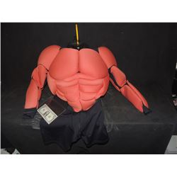 HELLBOY SCREEN USED UNDER MUSCLE SUIT