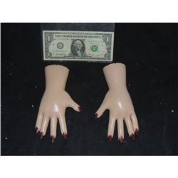 SEED OF CHUCKY HERO ANIMATRONIC TIFFANY PUPPET HANDS