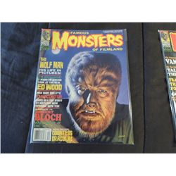 FAMOUS MONSTERS OF FILMLAND #205