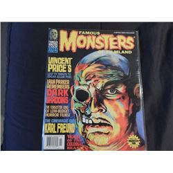 FAMOUS MONSTERS OF FILMLAND #232-3