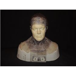 DEAD SNOW 2 RED VS DEAD SCREEN USED DEREK MEARS [JASON VOORHEES] FULL HEAD APPLIANCE ON LIFE BUST