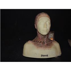 DEAD ROTTEN ZOMBIE WITCH FEMALE MAKE UP COWL ON FULL BUST 3
