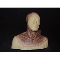 DEAD ROTTEN ZOMBIE WITCH MALE MAKE UP COWL ON FULL BUST 02