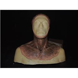 DEAD ROTTEN ZOMBIE WITCH MALE MAKE UP COWL ON FULL BUST 03