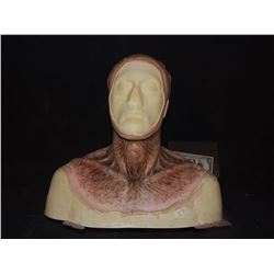DEAD ROTTEN ZOMBIE WITCH MALE MAKE UP COWL ON FULL BUST 04