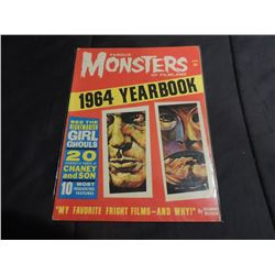 FAMOUS MONSTERS OF FILMLAND 64 YEARBOOK