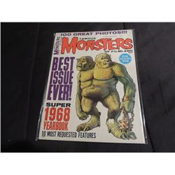 FAMOUS MONSTERS OF FILMLAND 68 YEARBOOK