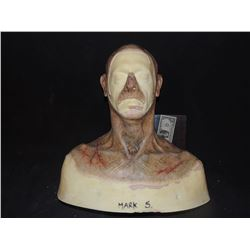 DEAD ROTTEN ZOMBIE WITCH MALE MAKE UP COWL ON FULL BUST 10