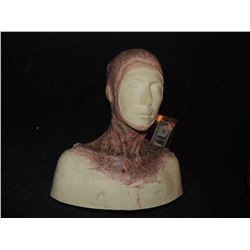 DEAD ROTTEN ZOMBIE WITCH FEMALE MAKE UP COWL ON FULL BUST 1