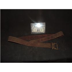 PIRATES OF THE CARIBBEAN DEAD MEN TELL NO TALES SCREEN USED BELT
