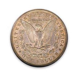1896-O $1 Morgan AU55