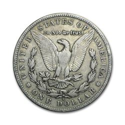 1902-S $1 Morgan Silver Dollar VG