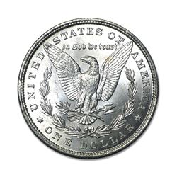 1884 $1 Morgan Silver Dollar AU