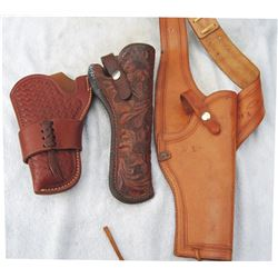 3 Lawrence holsters