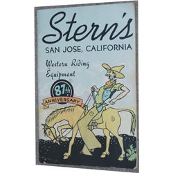 very rare Stern's, San Jose 87th Anniversary catalog
