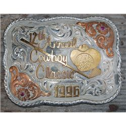 1996 12th Annual Red Bluff Cowboy Classic buckle