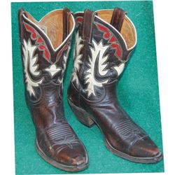 Justin inlaid boots