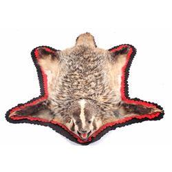 Badger Montana Trophy Fur Rug