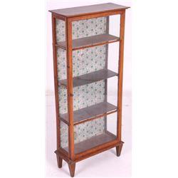 Antique Mission Style Curio Cabinet
