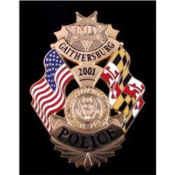 2001 Presidential Inauguration Badge Gaithersburg