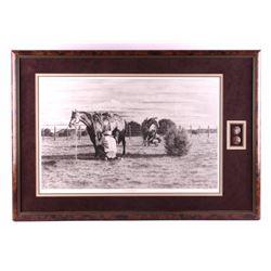Dino Cornay Framed Western Print