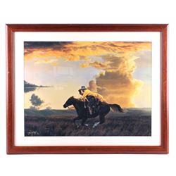 Tim Cox Framed Western Print