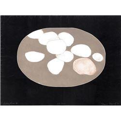 Elianne Lazarof, Falling Forms III, Aquatint Etching