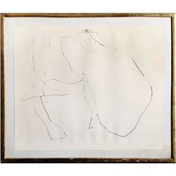 Joan Miro, Flux de l'Amaint (Cramer 88), Drypoint Etching