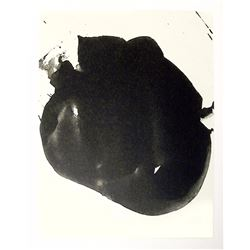 Robert Motherwell, Octavio Paz, Three Poems 2, Lithograph