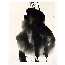 Robert Motherwell, Octavio Paz, Three Poems 3, Lithograph