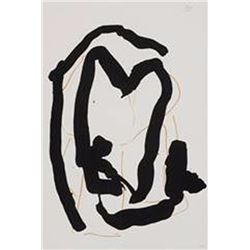 Robert Motherwell, Beau Geste, Lithograph