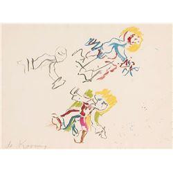 Willem de Kooning, For Lisa, Lithograph
