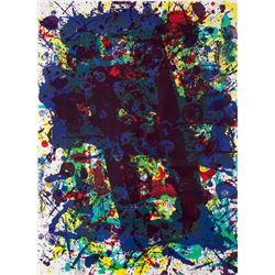 Sam Francis, Untitled from Papierski (SF 349), Lithograph