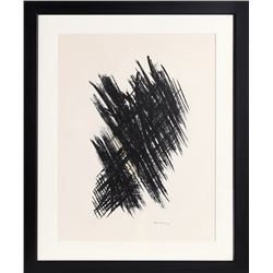 Hans Hartung, Untitled 4, Lithograph