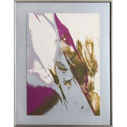 Paul Jenkins, untitled 4, Lithograph